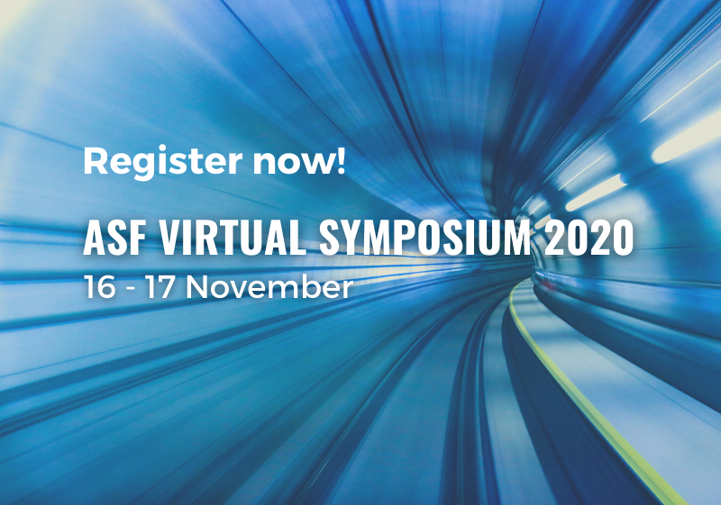 ASF Virtual Symposium 2020 - Register now!
